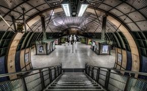 Picture England, London, london, underground, england, metro, subway, Grand Entrance