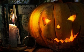 Picture rendering, pumpkin, Halloween, Kigi