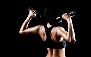 Picture body, fitness, gym, strong