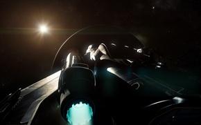 Picture space, starship, Star Citizen, Freelancer