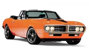 Picture Orange, Pontiac, Firebird