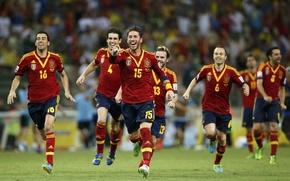Picture football, Javi, Football, Spain, Xavi, Andres Iniesta, Ramos, Juan Mata, Sergio Busquets, Iniesta, Confederation Cup …