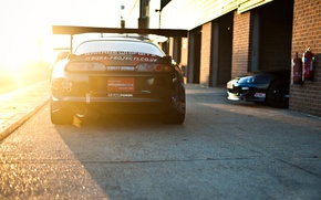 Picture car, auto, sunset, sport, cars, supra, toyota, speed hunters, professional tuning