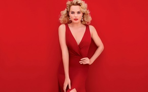 Wallpaper Vanity Fair, photoshoot, Margot Robbie