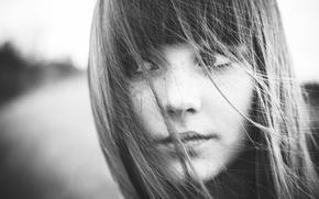 Picture look, photo, hair, portrait, freckles