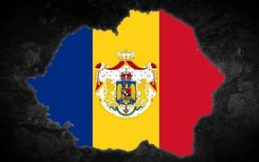Picture Flag, Romania, Greater Romania, Greater Romania, Wallpaper Romania Mare, Drapel