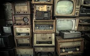 Picture radio, TV, tape