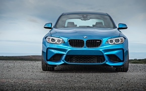 Picture face, BMW, coupe, BMW, blue, Coupe, F87