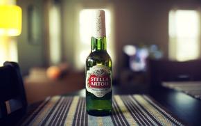 Picture bottle, beer, stella artois