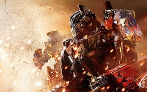 Picture the explosion, robot, Transformers