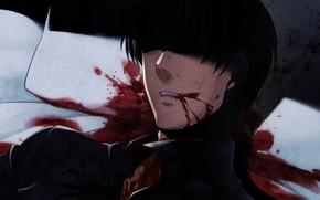 Picture death, blood, the victim, murder, spot, When the seagulls cry, George Ushiromiya, Umineko no naku …