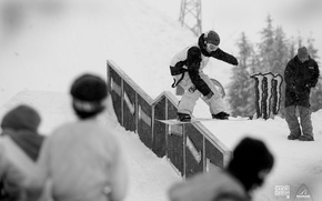 Picture photo, competition, snowboard, snowboarding, the descent, sport, black and white, guys, adrenaline, Extreme, snowboarding, extreme