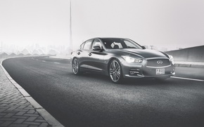 Wallpaper Dubai, Infiniti Q50, car