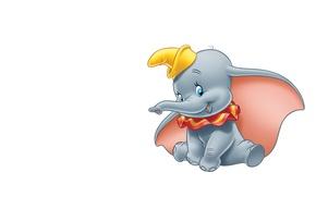 Picture art, elephant, children's, Dumbo