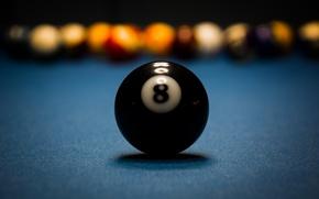 Picture macro, ball, Billiards