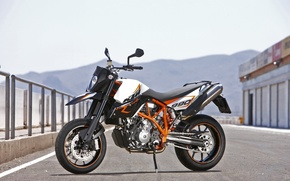Picture KTM, 690, SMC, Supermoto