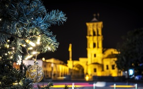 Wallpaper larnaca, christmas, cyprus