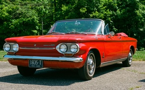 Picture Chevrolet, classic, the front, Corvair