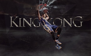 Picture Glass, The game, The ball, Sport, Shield, NBA, Indiana Pacers, Paul George
