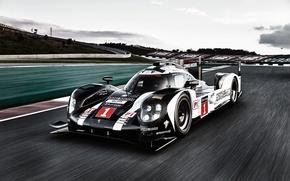 Wallpaper Porsche, supercar, Porsche, track, Hybrid, 919