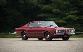 Picture car, Fastback, Barracuda, Plymouth, handsome, 1968, Plymouth, muscle, Formula S
