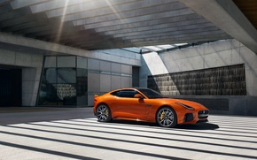 Picture light, Jaguar, Coupe, F-Type, 2016, SVR