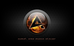 Picture music, player, icon, logo, Logo, player, AIMP3, AIMP, AIMP