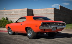 Picture Dodge, Challenger, muscle car, 1974