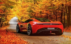 Picture road, auto, the concept car, scenic, Aston Martin DBC