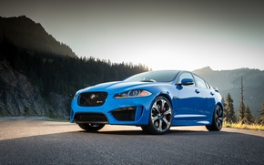Picture Jaguar, Blue, XFR-S
