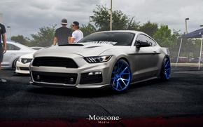 Picture mustang, Mustang, wheels, ford, Ford, muscle, tuning, power, front, america, face, GTcustom