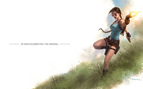 Picture Lara Croft, Lara Coft, Game, Rise of the Tomb Raider, 20 Year Celebration: The Original