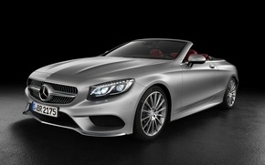 Picture Mercedes-Benz, convertible, Mercedes, AMG, S 63, S-Class, 2015, A217