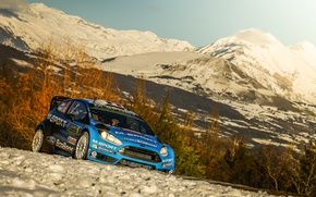 Picture Ford, WRC, Rally, Fiesta, Monte Carlo