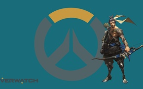 Picture Blizzard, Wallpaper, Game, Hanzo, Overwatch