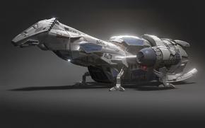 Wallpaper ship, serenity, serenity, firefly, Firefly, model