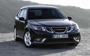 Wallpaper can 9 photos, machine, Saab 9