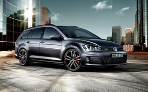 Picture Volkswagen, Golf, Golf, Volkswagen, GTD, 2015, Variant