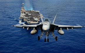 Picture USA, carrier, Navy, Aircraft, FA18