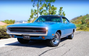 Wallpaper 1970, 500, Dodge, Charger