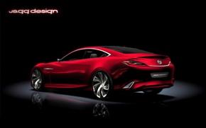 Picture Concept, Mazda, red, Shinari