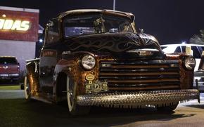 Picture retro, Chevrolet, classic, pickup, pickup