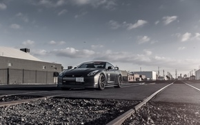 Picture Matt, Nissan, GT-R, black, Nissan, front