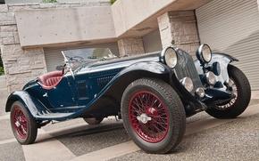 Picture Alfa Romeo, classic, Zagato, 1930, 1750 GS, 1932 design