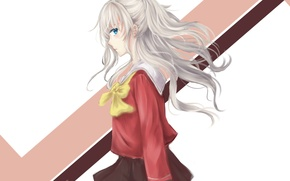 Picture girl, hair, art, charlotte