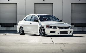 Picture Mitsubishi, Lancer, Evolution, BBS, Stance, Fitment