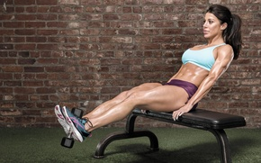 Picture pose, workout, fitness, abs