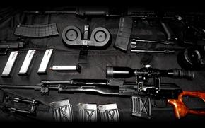 Wallpaper gun, machine, rifle, shop, killer