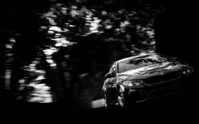Picture blur, BMW