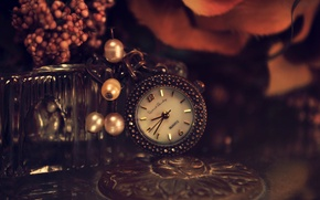 Picture flowers, metal, table, watch, dial, beads, keychain, suspension